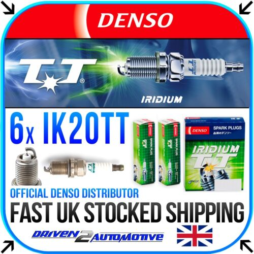 E36 6x Denso TT Bujías de Iridio IK20TT Para BMW Z3 2.8 I 04.97-06.00