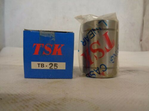 NEW TSK TB-25 BALL BUSHING LINEAR MOTION BEARING 25MM