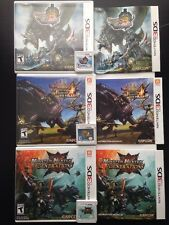 Monster Hunter 3ds Lot : MH 3 Ultimate, MH 4 Ultimate, MH Generations