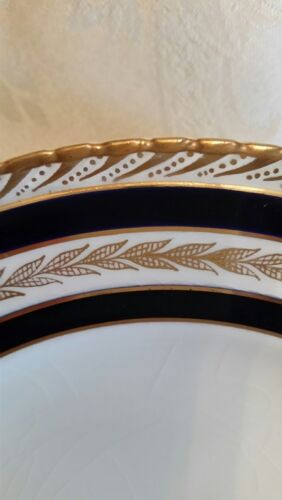 Crown Ducal Duchess Pattern Cobalt Bread /& Butter Plate