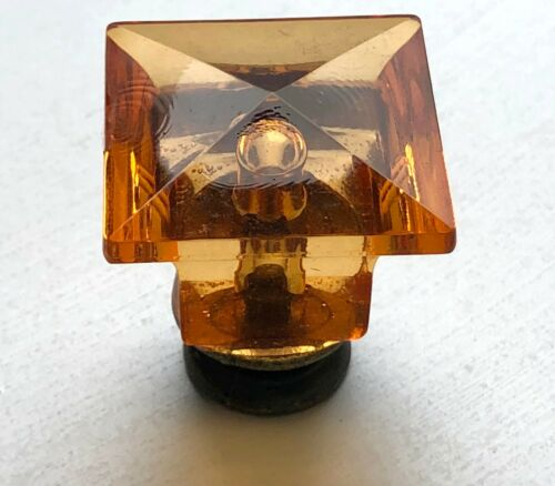 gold antique round square mushroom shapes Cupboard cabinet knob amber crystal