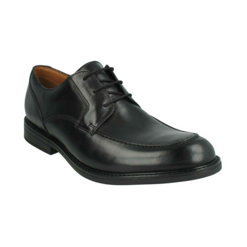 BECKFIELDAPRON MENS CLARKS LACE UP LEATHER FORMAL OFFICE WORK SMART SHOES