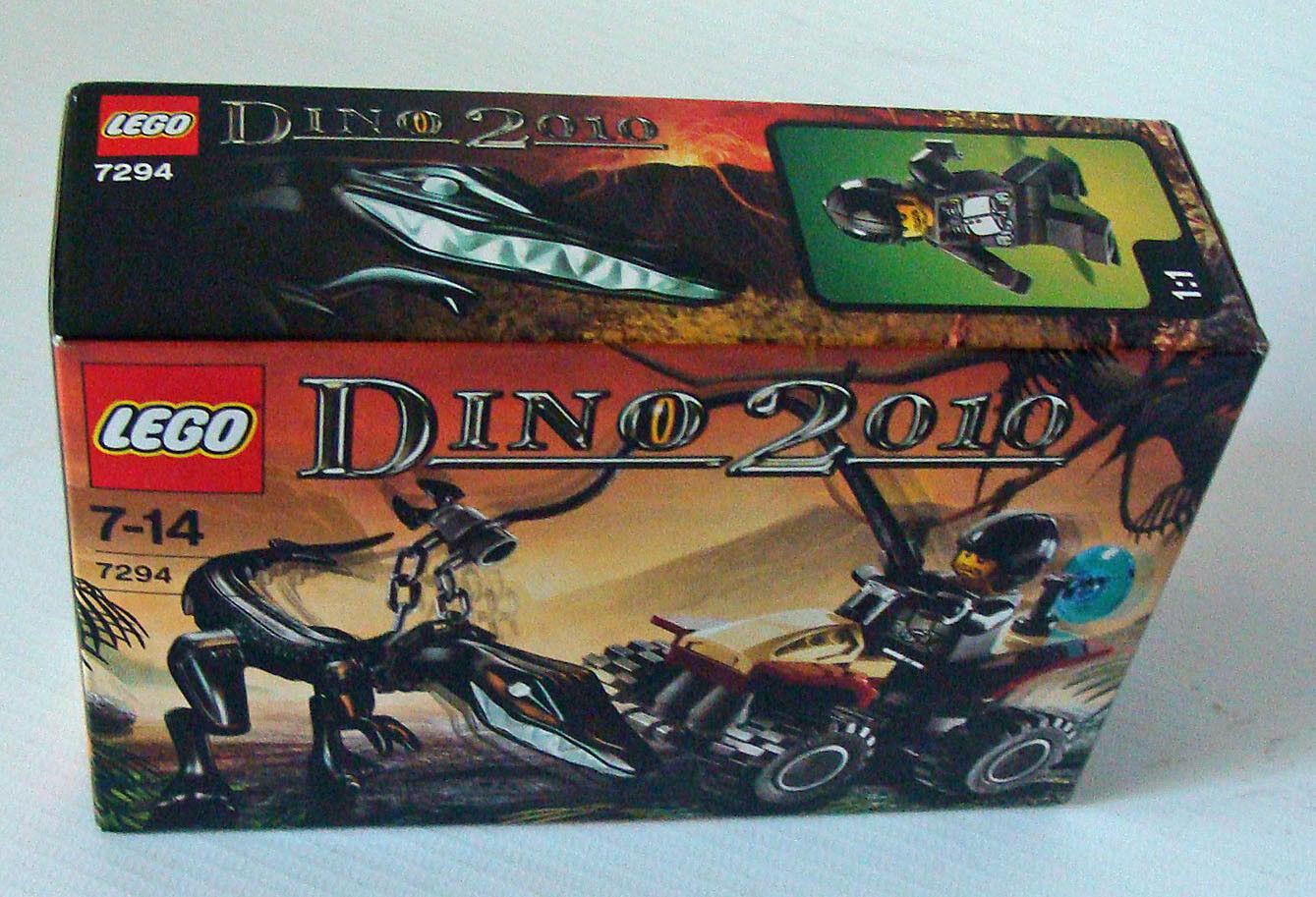 LEGO ® dino 2010 7294-Dino terrain Véhicule 39 pièces 7-14 ans-NEUF