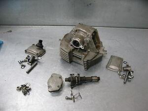 Ducati-Multistrada-620-05-Rear-Cylinder-Head-Cam-Shaft-Valves-Rockers-7K-Mi-2005