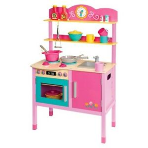 Play Circle Little Chef S Kitchen Wooden Set