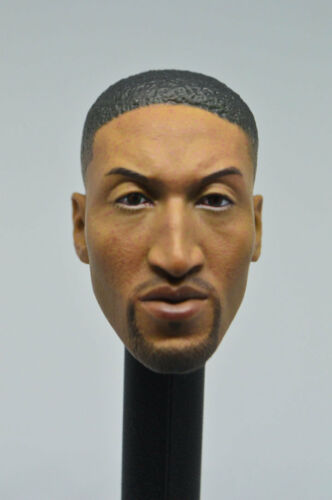 Custom 1//6 Scale Scottie Pippen Head Sculpt For Hot Toys Body