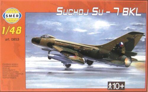 Bausatz 1:48,0853 SMER Suchoj Su-7 BKL,Russischer Jagdbomber,Exportversion