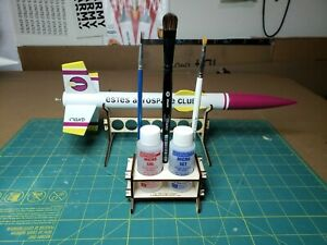 Microscale Micro Sol Micro Set bottle holder with brush holder - stop spills!