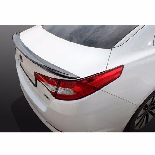 New Rear Trunk Wing Lip Spoiler Space for Kia Optima 2011-2013 Black