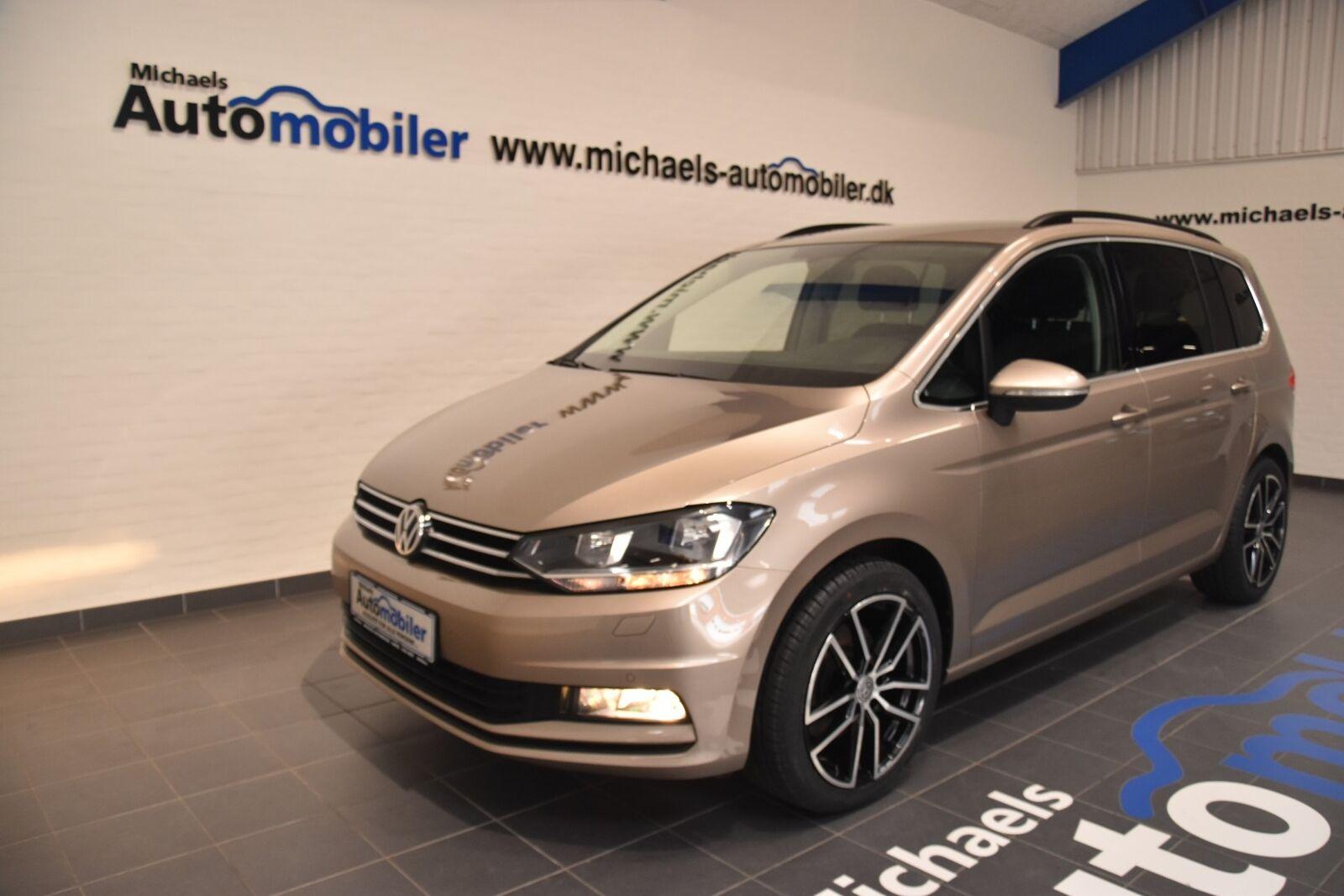 VW Touran 1,4 TSi 150 Comfortline DSG 7prs 5d - 279.900 kr.
