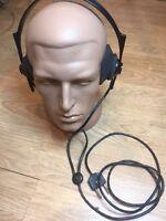 Headphones TA-56m (3200 Ohm) Military USSR HAM RADIO (plastic rim). New # 1