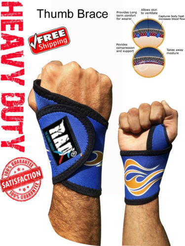 THUMB Support and WRIST Brace SPICA Trigger for ARTHRITIS Support TENDONITIS SPR