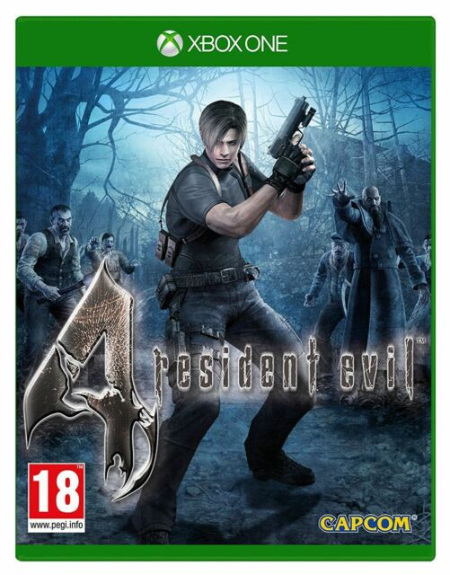 Resident Evil 4 Microsoft Xbox One Game 18+ Years