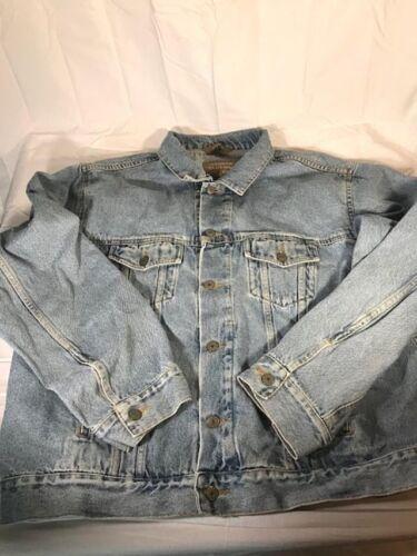 discount Haggar Clothing Co. Jean Jacket XL 100% Cotton