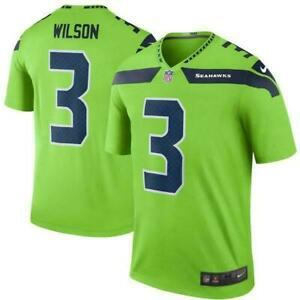 Details about Seattle Seahawks #3 Russell Wilson 2021 Super Bowl Stitched Jersey, Size : Large