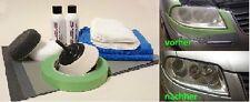 Scheinwerfer Aufbereitung Set Politur Acryl-Plexiglas Reparatur 18 teilig B.W.C