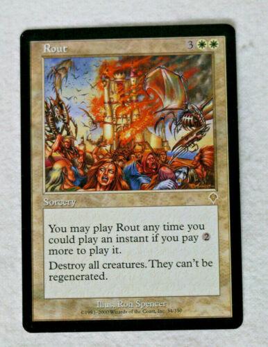 Rout Invasion LP//NM MTG Magic the Gathering