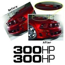 300 HP Hood Scoop decal / sticker Metro Auto fits 05-08 Mustang GT MG6902