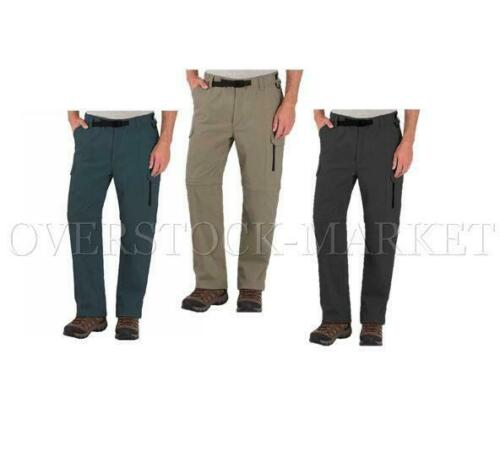 VARIETY! CLOTHING STRETCH CONVERTIBLE CARGO PANT NEW MEN/'S B.C WASHED SOFT