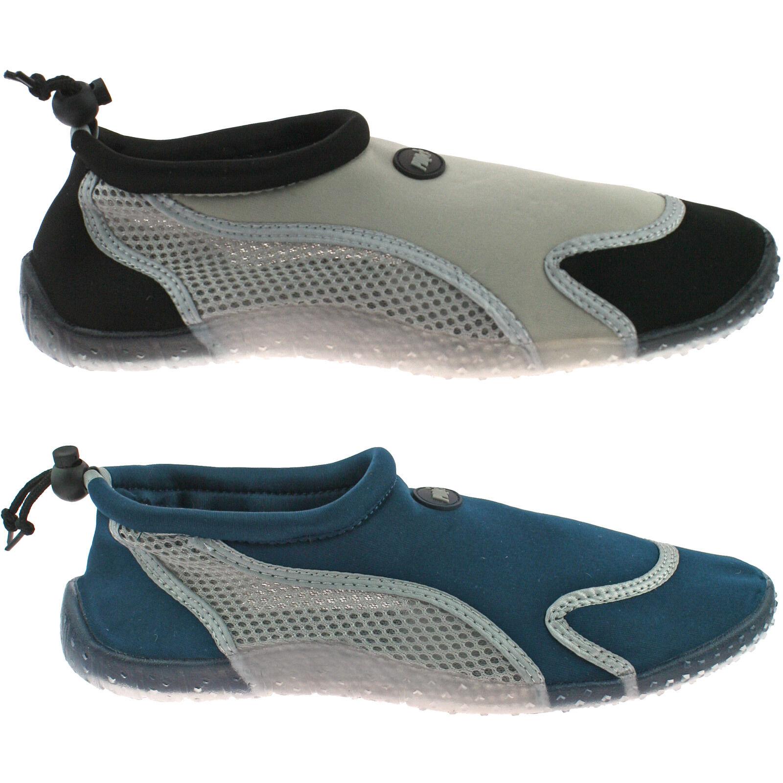 hommes PDQ Aqua plage chausettes chaussures pointure UK 6 - 12 bascule Col