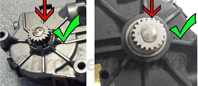 Toit ouvrant Moteur Transmission Gear Repair partie pour FORD MONDEO 1 I 2 II
