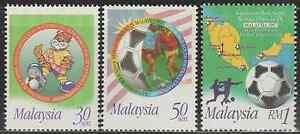 211-MALAYSIA-1997-9TH-WORLD-YOUTH-FOOTBALL-CHAMPIONSHIP-SET-FRESH-MNH