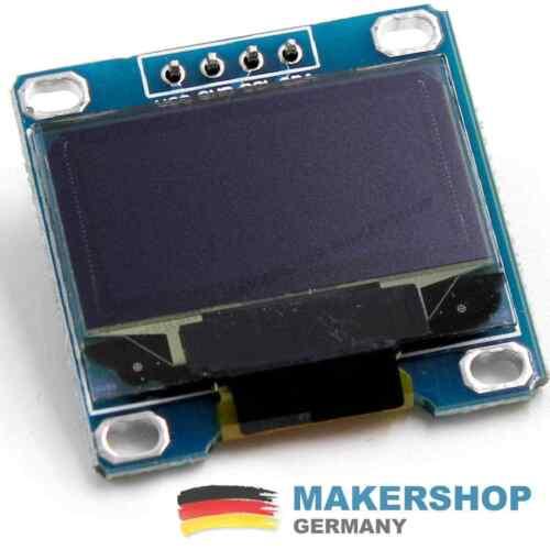 0,96 pollici Arduino OLED display ssd1306 BIANCA 128x64 i2c//iic modulo RASPBERRY P....