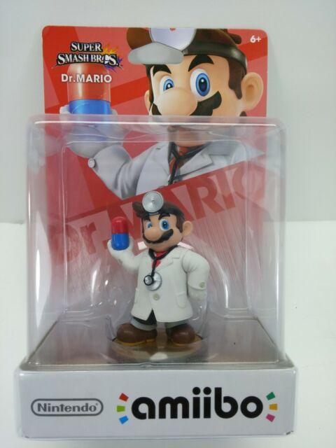 Amiibo Dr. Mario (Super Smash Bros) For Nintendo Wii U Nintendo DS3 *New Sealed*