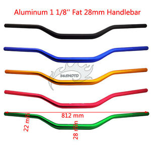 28mm-1-1-8-034-Fat-Handlebar-Handle-Bar-For-Pit-Dirt-Bike-Motocross-Taotao-ATV-Quad