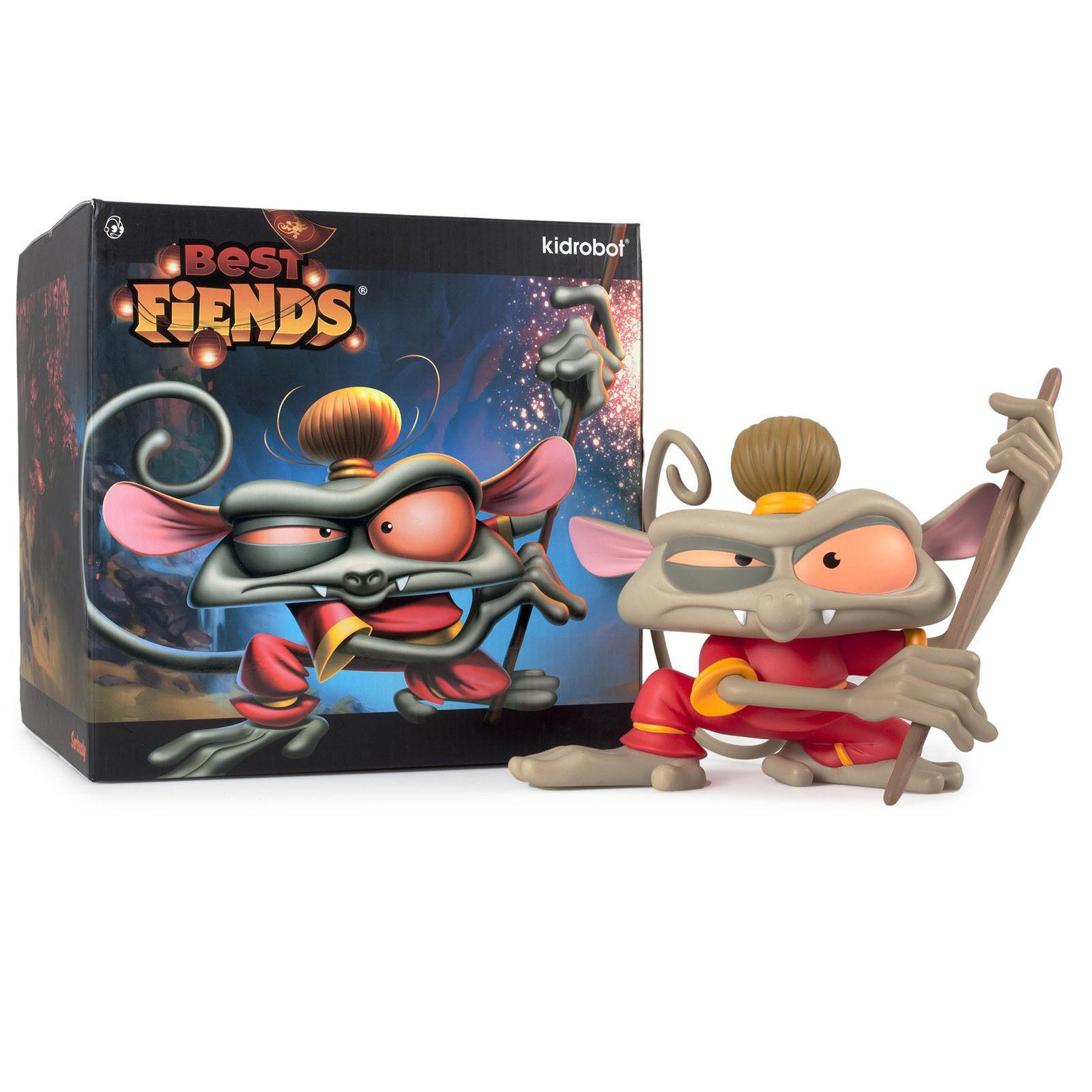 Kidrobot Best Fiends Tarsier Monkey Medium Figure NEW Toys and Collectibles