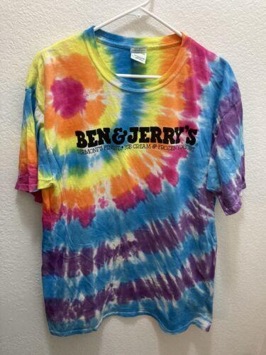 Ben & Jerry's Tye Dye Shirt L CHUNKY DUNKY NIKE SB