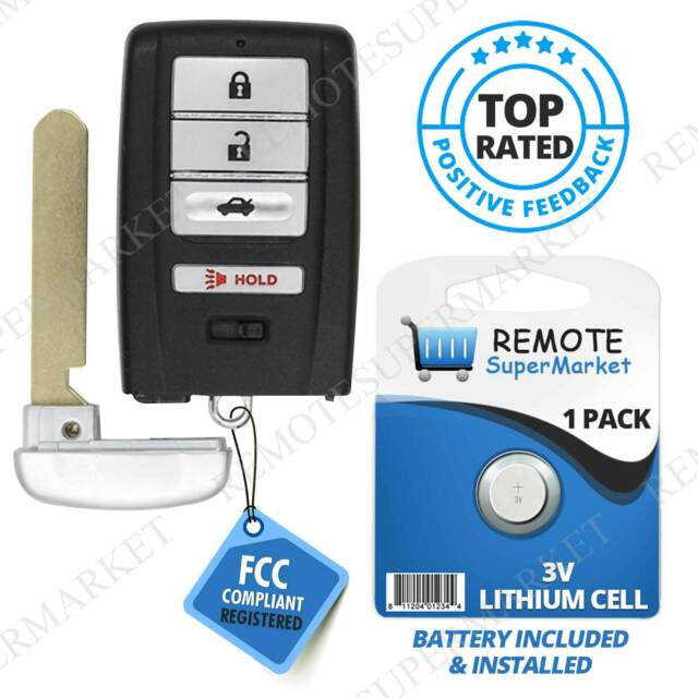 Replacement For 2015 2016 2017 Acura TLX Remote Car Key
