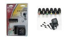 Universal AC-DC Power Adapter Converter 3V 4.5V 6V 7.5V 9V 12V 500mA w/ 6 Plugs