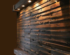 Wood Wall Tiles, Wall Covering Panels, Decorative, Vintage, Reclaimed Wood Decor