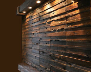 Wood Wall Tiles Covering Panels
