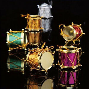 Christmas Drum Decor.12pcs Christmas Drum Ornaments Festival Party Home Xmas Tree