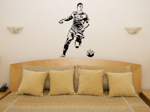 Memphis Depay  Football Player Decal Wall Art Sticker Picture Poster