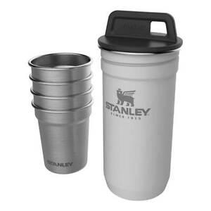 Stanley-ADVENTURE-SHOT-GLASS-SET-aus-rostfreiem-Edelstahl-spuelmaschinenfest-NEU
