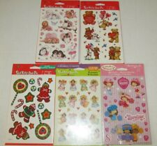Vintage Strawberry Shortcake Puffy Stickers American Greetings 1982 Sealed NIP
