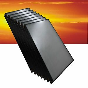 Solaranlage Komplettpaket Flachkollektor Sonnenkollektor Solarkollektor Boiler 0