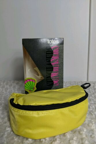 Totes Sunchasers Belt Pack Fanny Pack Neon Yellow