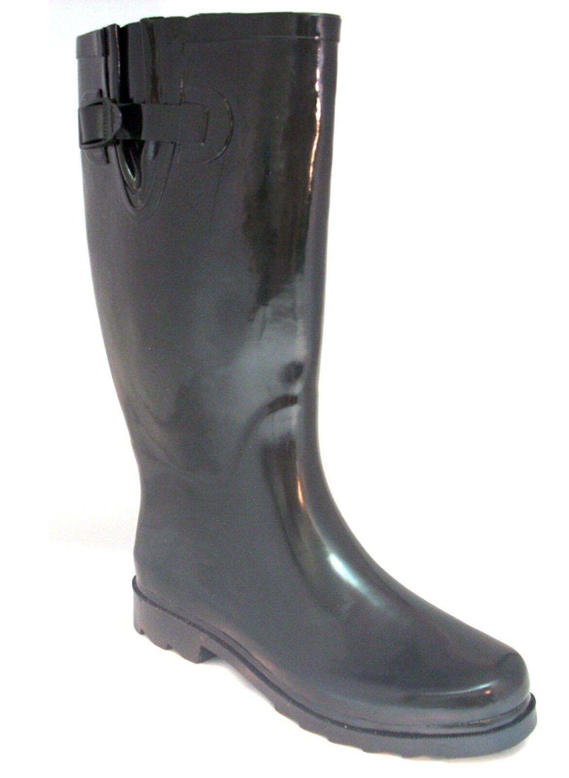 Rain Boots Size Womens Rubber New Wellies Snow 5 11 Mid Calf Flat 9 Women S 8 7
