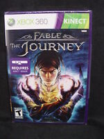Xbox 360 Fable: The Journey Kinect Action Rpg Game 2012 Sealed Nip
