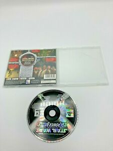 Sony PlayStation 1 PS1 Disc No Manual Star Wars: Episode I: Jedi Power Battles