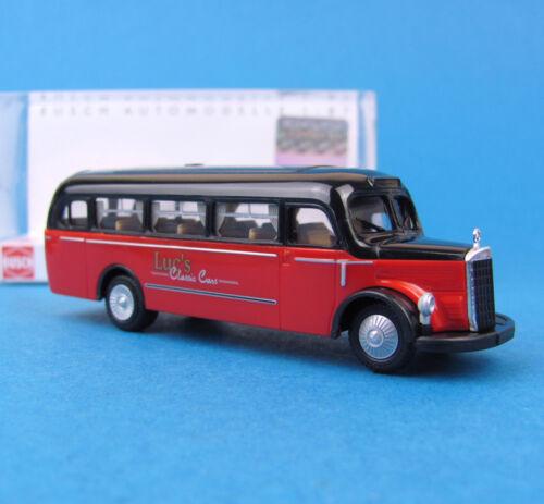 Busch h0 41003 Mercedes-Benz o 3500 bus Luc/'s omnibus MB ho 1:87 BOX