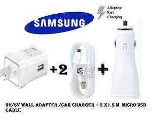 Samsung-9V-5V-Adaptive-fast-wall-charger-car-charger-galaxy-S6-S7-Edge-Note-4