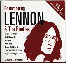 REMEMBERING LENNON & THE BEATLES: 2 CD SET - BADFINGER SANTANA MARMALADE ETC