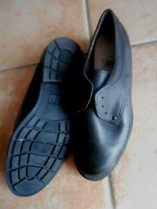 VINTAGE  chaussures cuir véritable homme 42