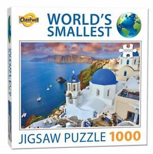 Santorini-1000-Piece-Jigsaw-Puzzle-World-039-s-Smallest-Puzzle