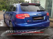 Dachspoiler für Audi A3 S3 RS3 Sportback Kombi Dach Spoiler 8P Heckspoiler